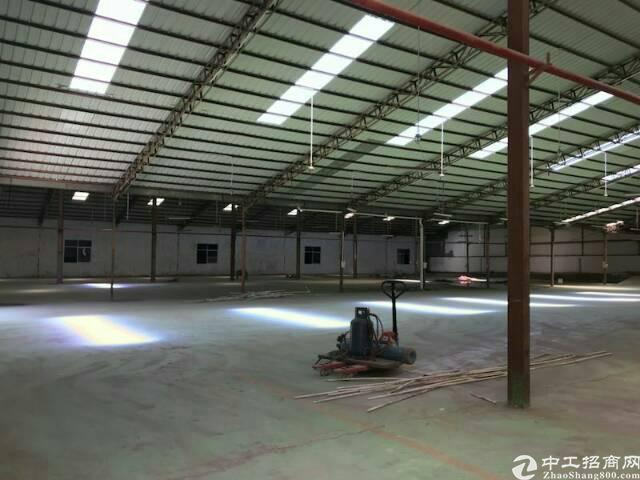 虎门陈村单一层独院厂房出租,面积2000平方,可做污染行业