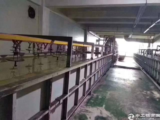 东莞清溪花园式厂房自带洗镀牌照楼上整层约1200㎡出租