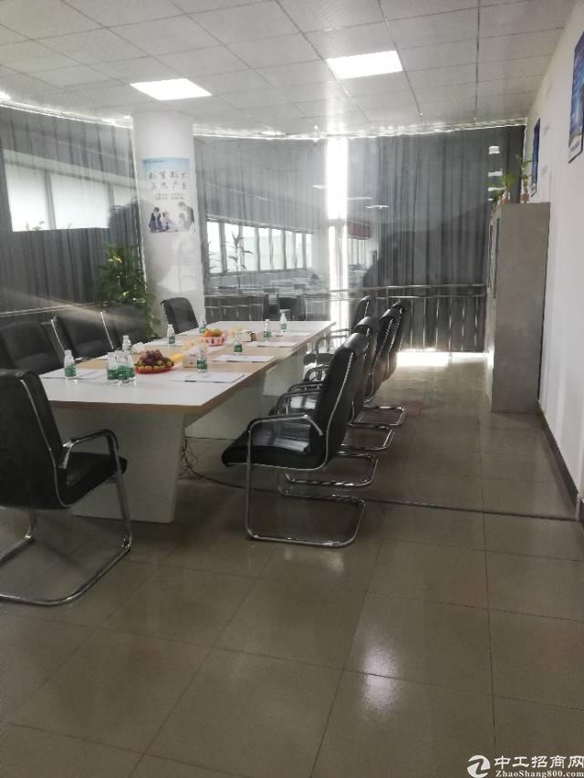沙井后亭地铁口新出楼上整层2200平精装厂房出租-图8