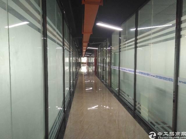 龙华大浪商业中心300㎡精装修办公室,4+2格局,园区形象好
