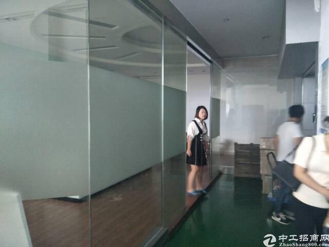 西乡固戍大门超靓厂房带装修2020平方租金30元出租-图2