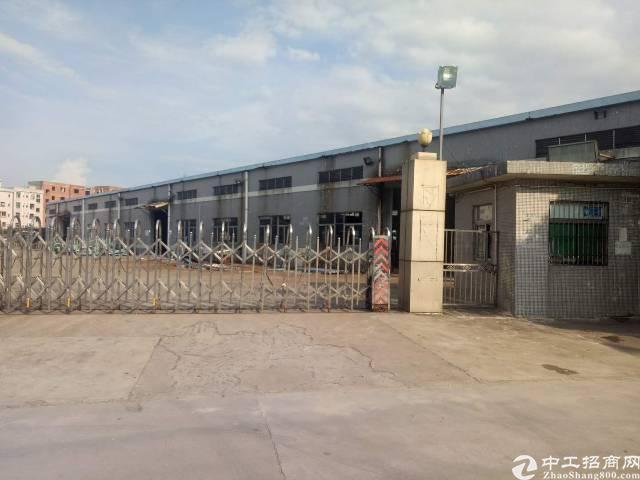 砖墙到顶单一层钢结构700厂房招租