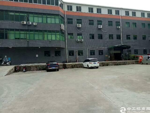 西乡洲石路靠鹤洲工业区1760平带装修厂房招租,大小可分租-图8