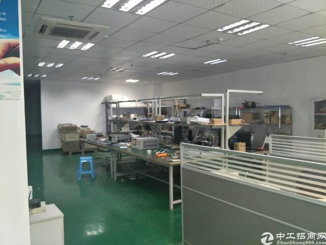 西乡固戍大门超靓厂房带装修2020平方租金30元出租-图3