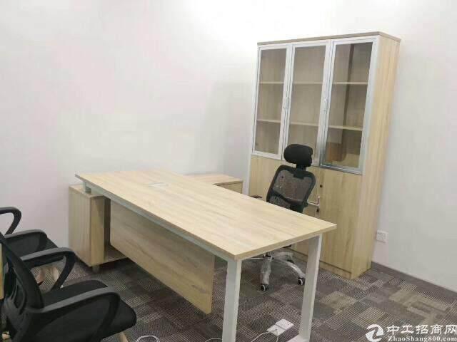 福永地铁口精装写字楼低价出租456平方图片5