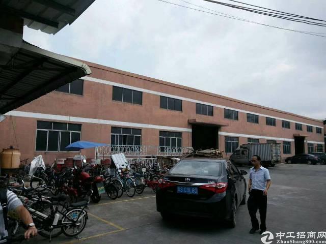 大岭山镇新出独门独院钢构厂房4000平方厂房附近没有居民