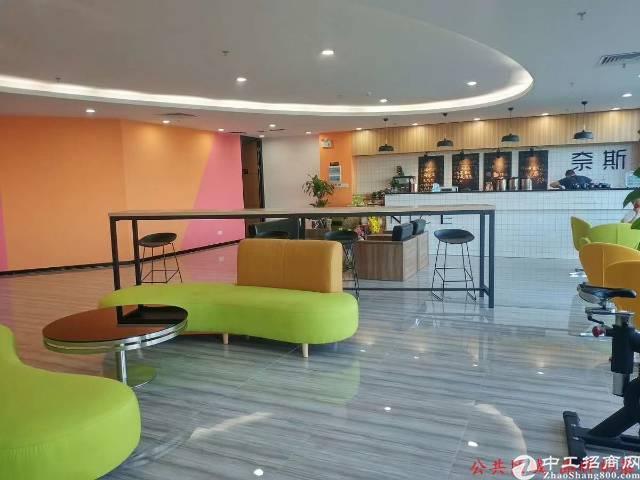 福永地铁口带办公家具精装写字楼出租
