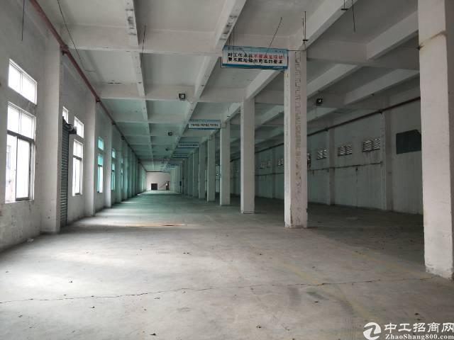 单一层大型物流场仓库1680✘3