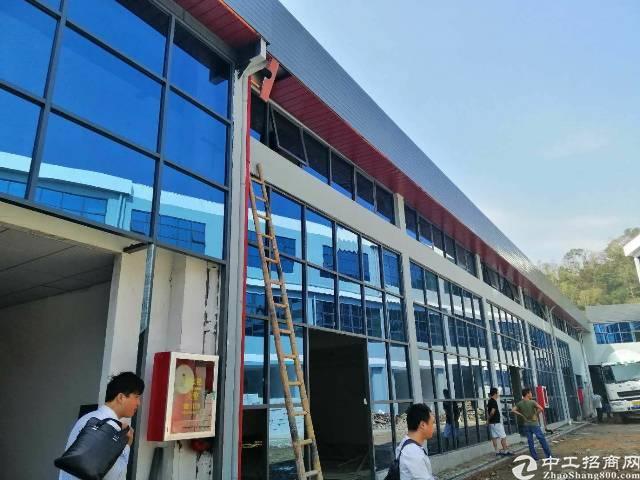 坂田吉华路旁新出全新独门独院豪装办公高新厂房105平起租