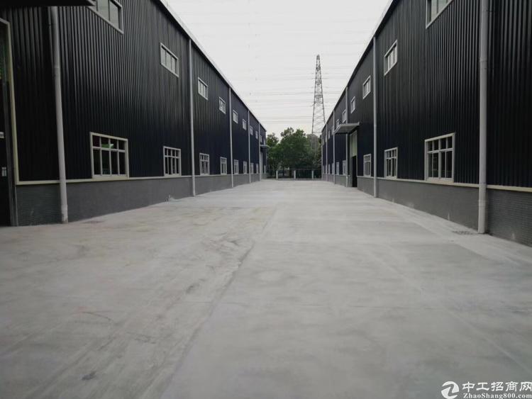 塘厦靠近观澜原房东新建钢构厂房6800平方招租,可分租