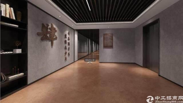 西乡碧海湾地铁口附近楼上精装修写字楼招租55-185平米图片6