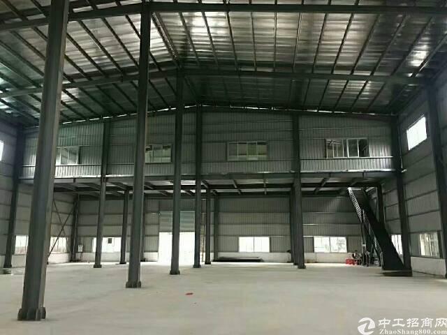 石岩独院钢构厂房面积1280平米高度8米招租