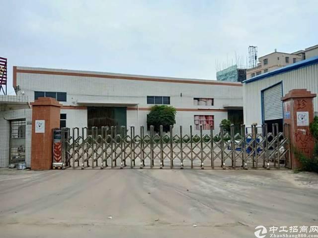 惠阳区新圩镇长深高速口附近独门独院钢构厂房总面积7068平方