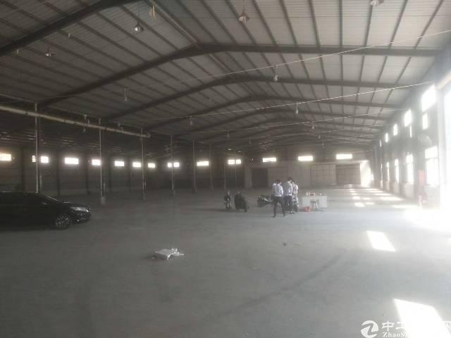 观澜牛湖新出8米高钢结构厂房5300平出租