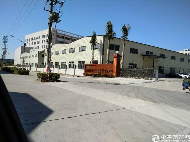 东莞钢构21000漂亮大空地独院厂房