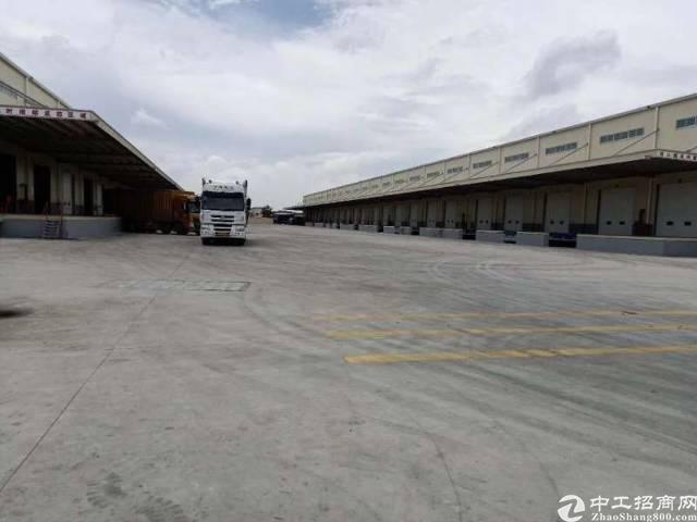 高速出口物流仓库6900平方带卸货平台空地超大出租