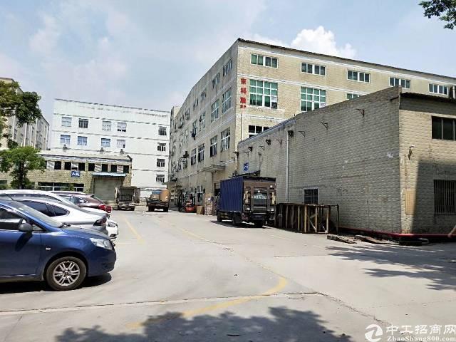 石岩龙大高速出口一楼2800平六米高带牛腿红本厂房