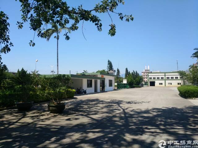 清溪镇新出原房东55000平米大降价出租厂房可做喷油喷漆行业