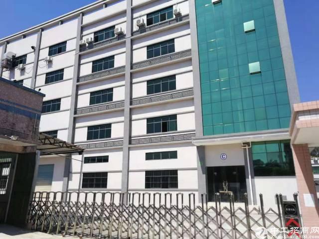 惠阳沙田独院标准厂房25000平方行业不限电2千伏