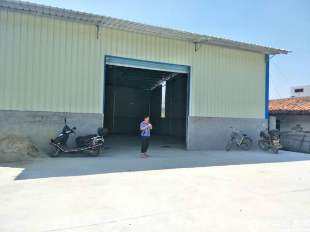 东莞市一线大路边800平米铁皮房出售