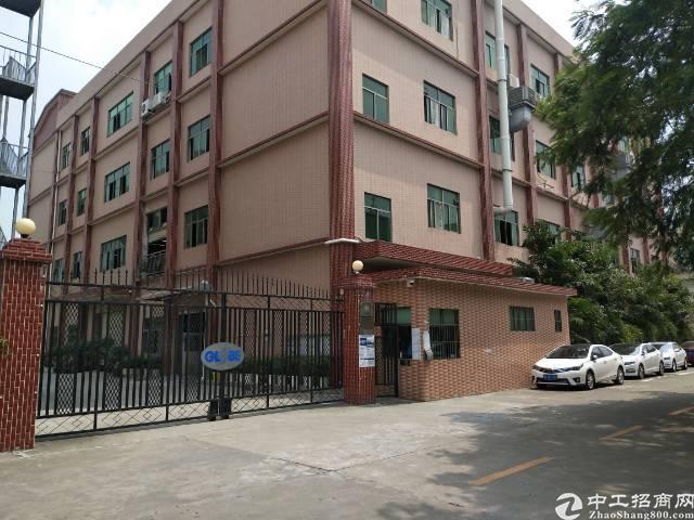龙岗南联新出厂房一二楼1400平方带装修出租