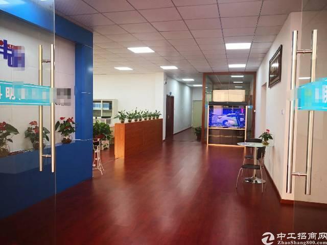 龙岗中心城地铁口精装修写字楼450平招租