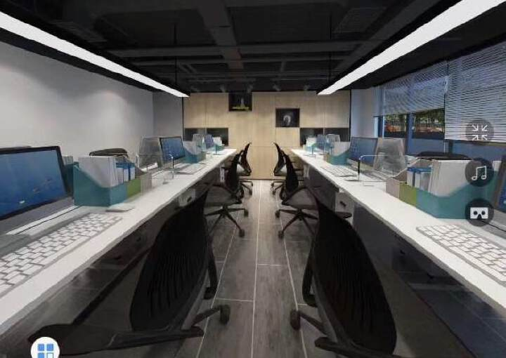 西乡大道全新装修写字楼58-500平方大小面积分租图片5