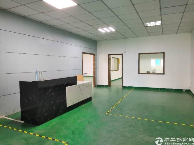 福永国道边稔田工业区新出楼上电梯口第一家600平招租