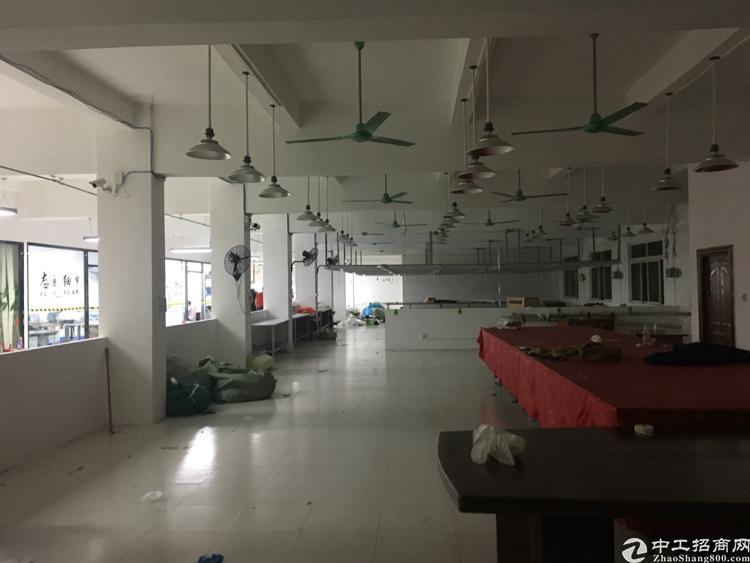 横岗安良工业区内现成服装厂房1000平米出租