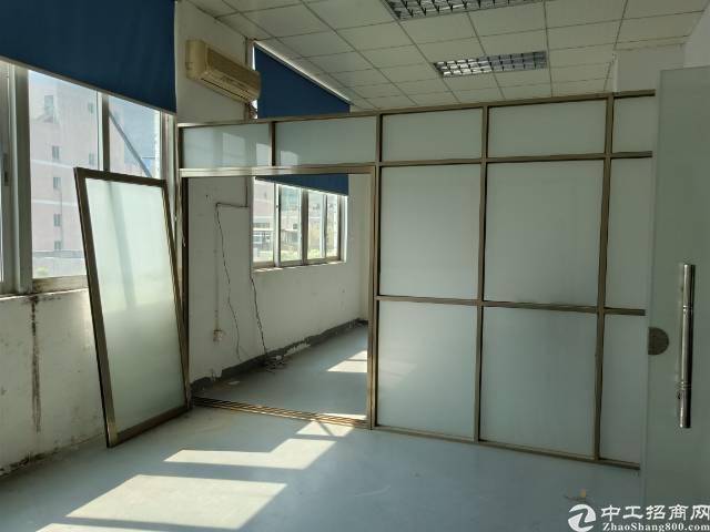 坪山碧岭新出原房东厂房独院楼上600平出租,现成办公室装修