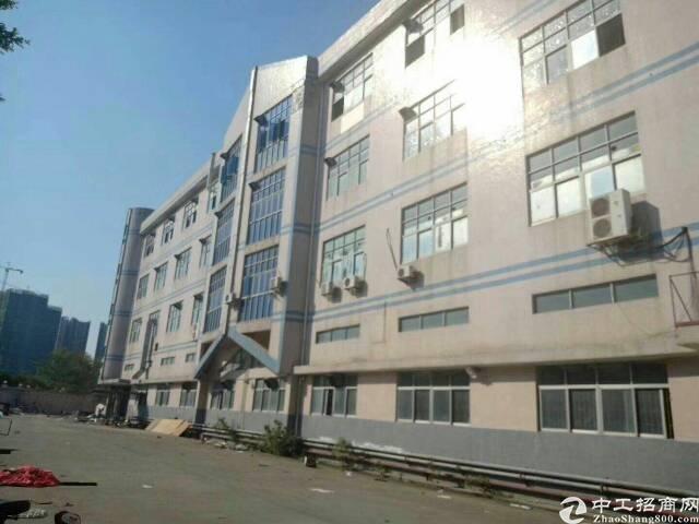 西乡银田工业区附近一楼2600平方租金45元