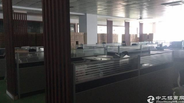 横岗四联社区新出大型工业园区楼上豪华装修厂房出租-图6