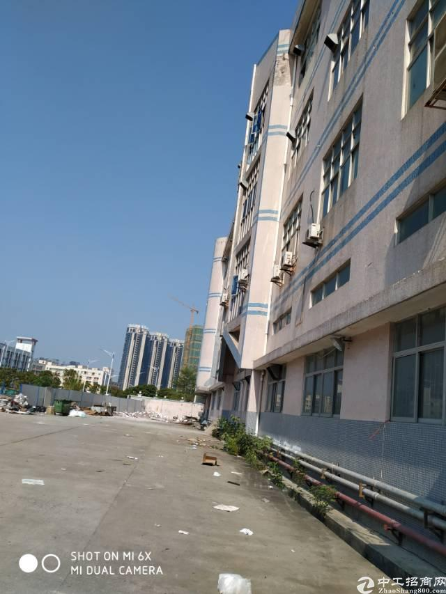 宝安大道附近新出独院一楼2300平厂房招租