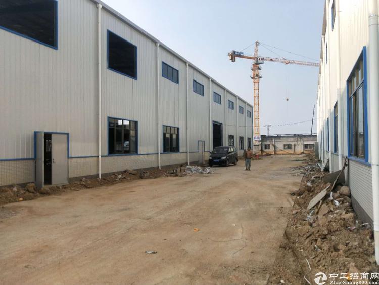 惠州市小金口新出原房东5600平独院钢构厂房出租。