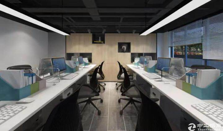 西乡双地铁口87平小户型精装办公室火热出租图片9