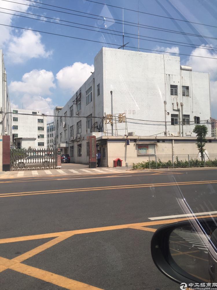 公明将石三层独院厂房2100平米出租。