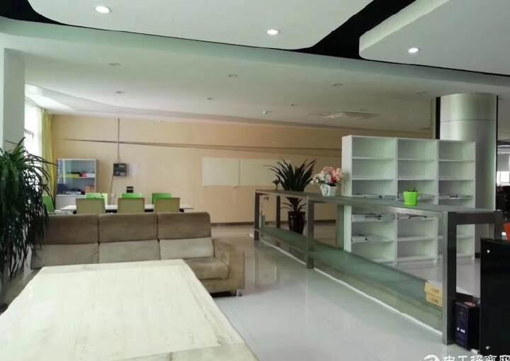 大浪嘉安达大厦2500平豪华装修办公室出租图片7