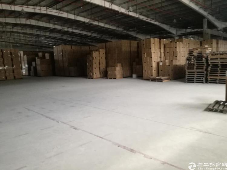 横岗高速口一楼单一层钢结构仓库6900平米招租标准卸货平台