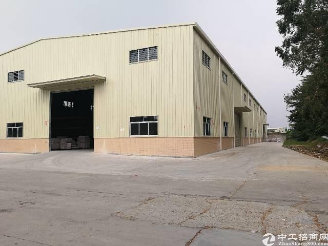 松山湖钢结构独门独院厂房,工业用地,高速口