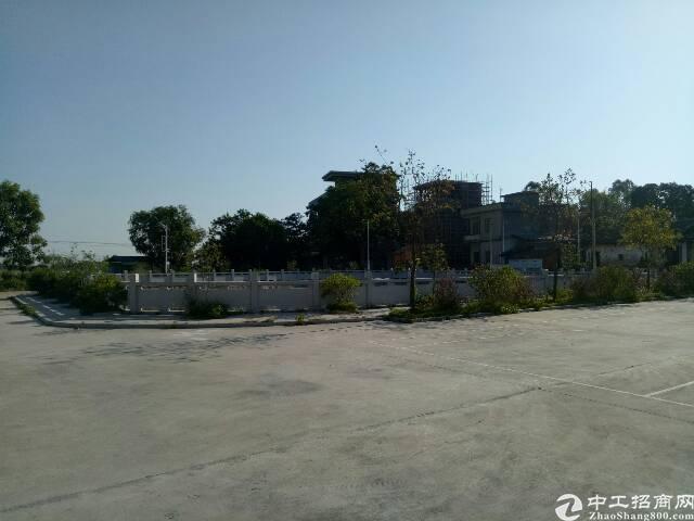 园洲独院现盘超大空地 离高速入口1.5公里单一层厂房2栋-图2