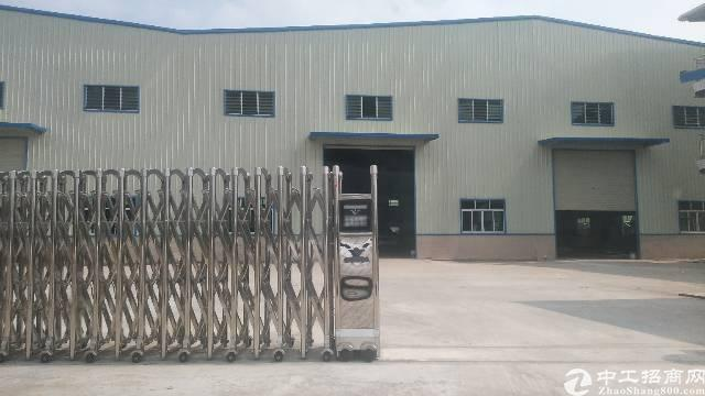 博罗县园洲镇独院单一层钢构厂房5000平方出租