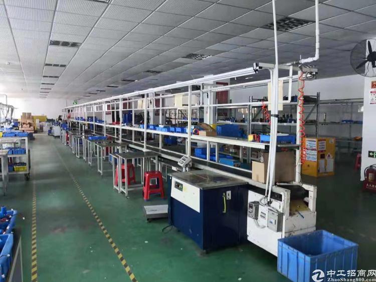 横岗228工业区楼上带装修1600平方米厂房出租