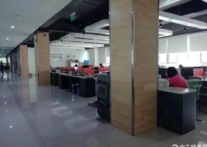 大浪嘉安达大厦2500平豪华装修办公室出租图片2