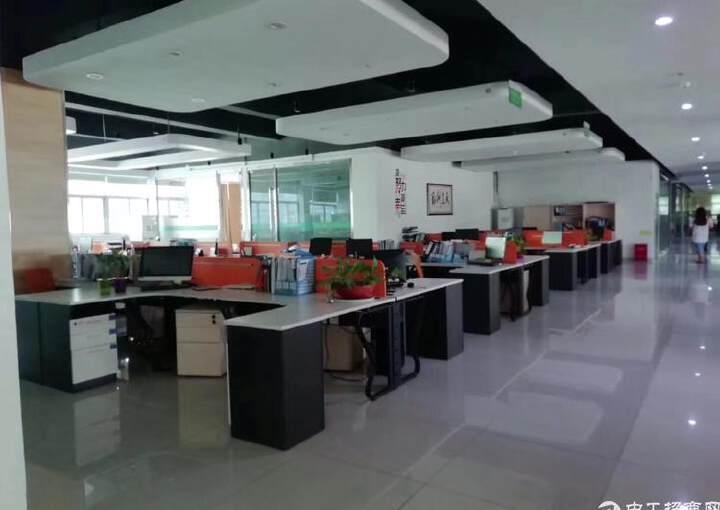 大浪嘉安达大厦2500平豪华装修办公室出租图片6
