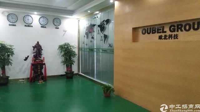 沙井后亭地铁站大型工业园新出装修厂房出租楼上680平,精装修-图5