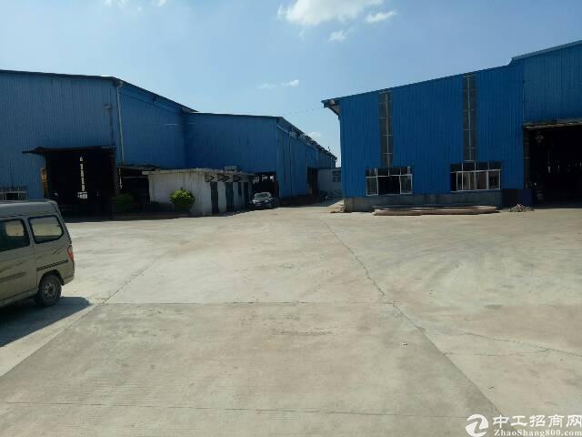 园洲独院现盘超大空地 离高速入口1.5公里单一层厂房2栋