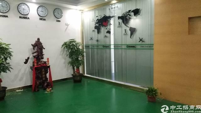 沙井后亭地铁站大型工业园新出装修厂房出租楼上680平,精装修-图3