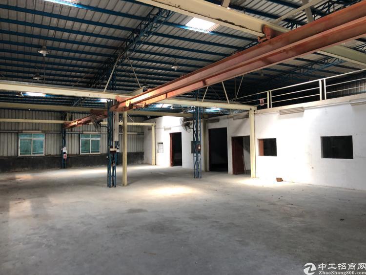 横岗六约一楼钢结构厂房带行车1000平米招租-图2
