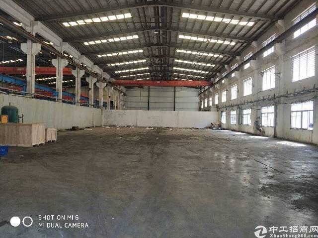 原房东1200平钢构厂房出租