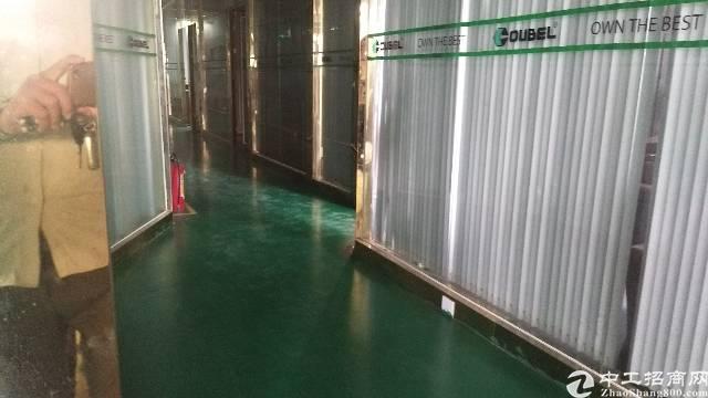 沙井后亭地铁站大型工业园新出装修厂房出租楼上680平,精装修